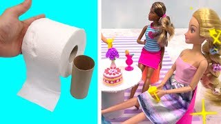 Cool DIY Recycling Barbie Hacks and Miniature For Doll Furniture