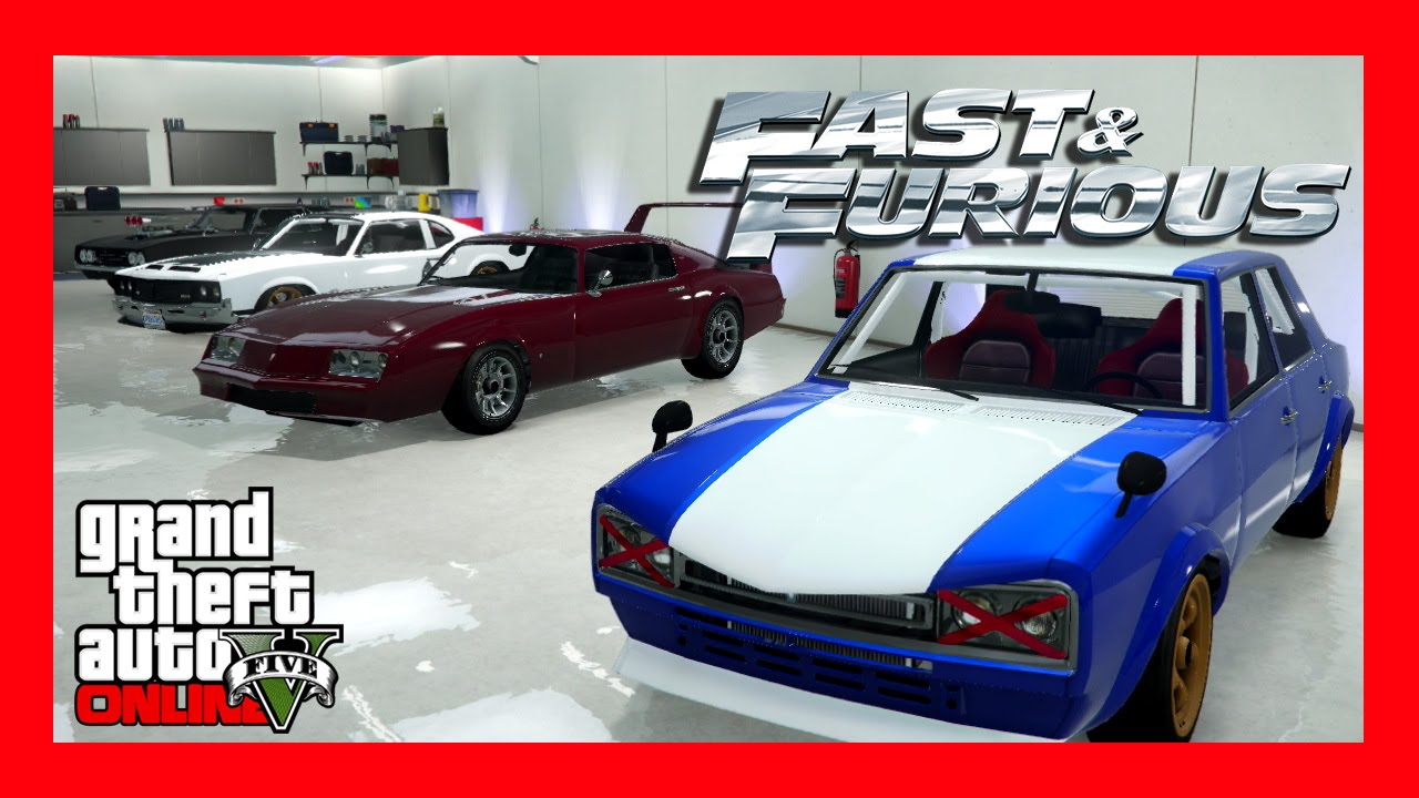 how to make fast and furious cars in gta 5