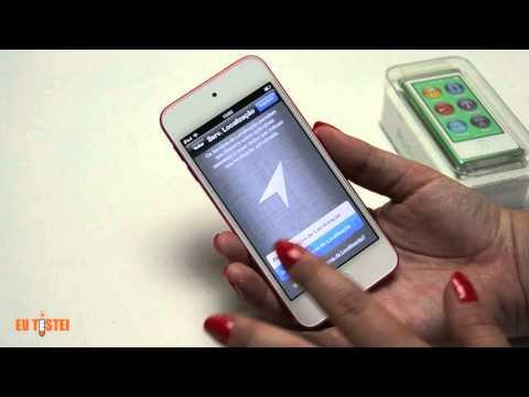 Unboxing novos iPods - Resenha Brasil