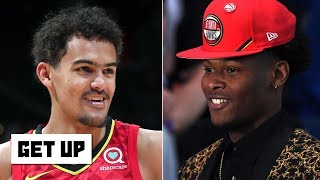 The Hawks could be playoff contenders with Cam Reddish, De'Andre Hunter - Jalen Rose | Get Up