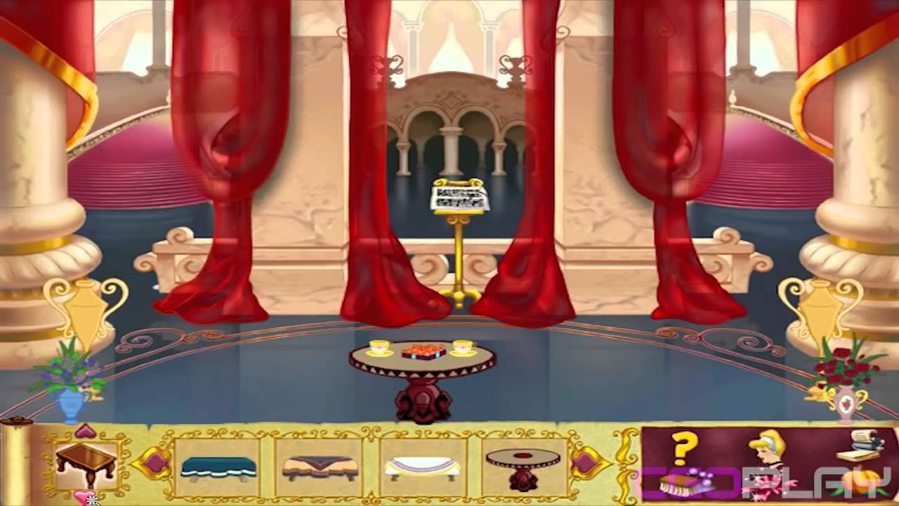disney cinderella dolls house royal castle decoration 2 creative disney game for girl part 4 hd