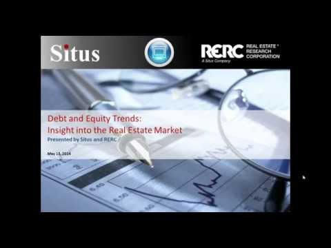 Debt and Equity Trends: Insight into the Real Estate Market