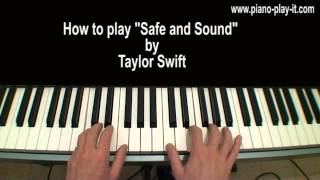 Safe and Sound Piano Tutorial Taylor Swift