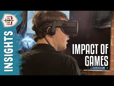 Potential for Impact in Video Games: Professor Michael Steffen | Faculty Insights