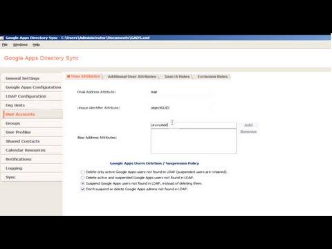 Creating a user using GADS