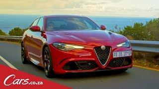 We Drive The Alfa Romeo Giulia Quadrifoglio
