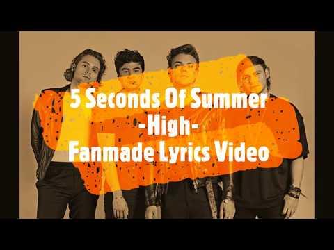 5 SOS - High [fanmade lyrics video]