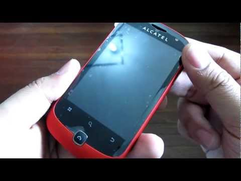 Alcatel One Touch Blaze 990 Hardware Tour