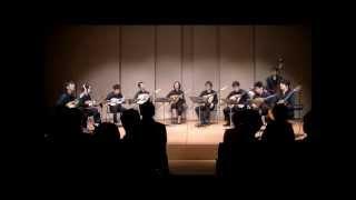 荒城の月による変奏曲(藤掛廣幸) 演奏:KSD Mandolin Ensemble KSDP5 ...