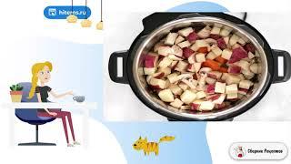 Тушеное мясо с картофелем в мультиварке. Рецепты простых блюд