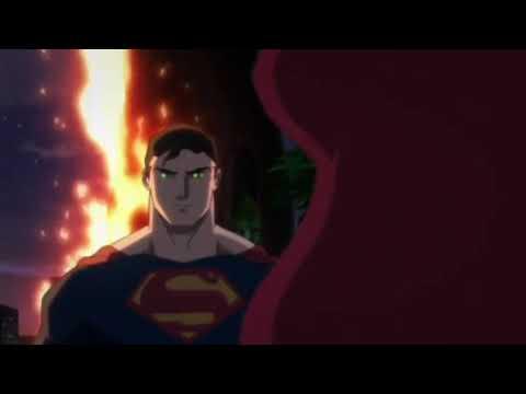 Batman Hush Poison Ivy Kisses Superman Youtube