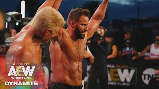 Warhorse Makes His AEW Debut & What is Matt Cardona Doing in AEW? | AEW Dynamite, 7/29/20