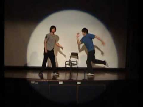Popping Dance Hip Hop Comedy (Interpretive dance) [Part 1]