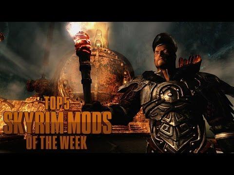 Riding the Skyrim Railway - Top 5 Skyrim Mods of the Week