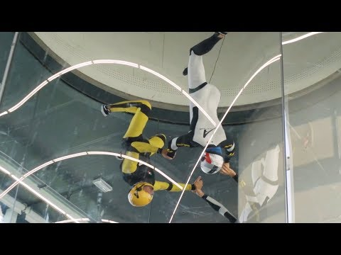 ABB drives control world's largest skydiving simulator