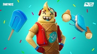 NEW SKIN *CUCURUCHO* (NEW CONVOLTORY *COLOR CHISPAS*) FORTNITE STORE [17/02/2019] -RoEssYT