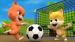 Chú Mèo Con - Nhạc Thiếu Nhi hoạt hình vui nhộn cho bé