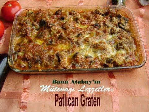 Patlıcan Graten (Yemek Tarifleri) - YouTube