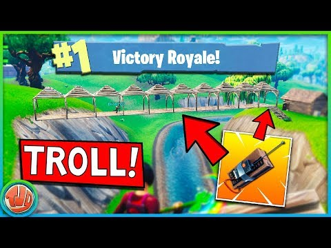 VETTE C4 BRUG TROLL + EPISCHE GUIDED MISSILE KILL!!! - Fortnite: Battle Royale