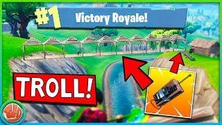 VETTE C4 BRUG TROLL + EPISCHE GUIDED MISSILE KILL!!! - Fortnite: Battle Royale