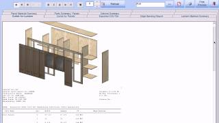 Cabinet Pro Software: Shop Drawings and Cut List Reports