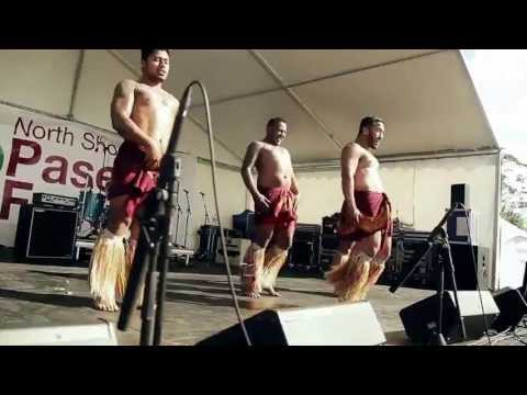 Dee - Licious Samoan Dance Crew at the North Shore Pasefika Festival