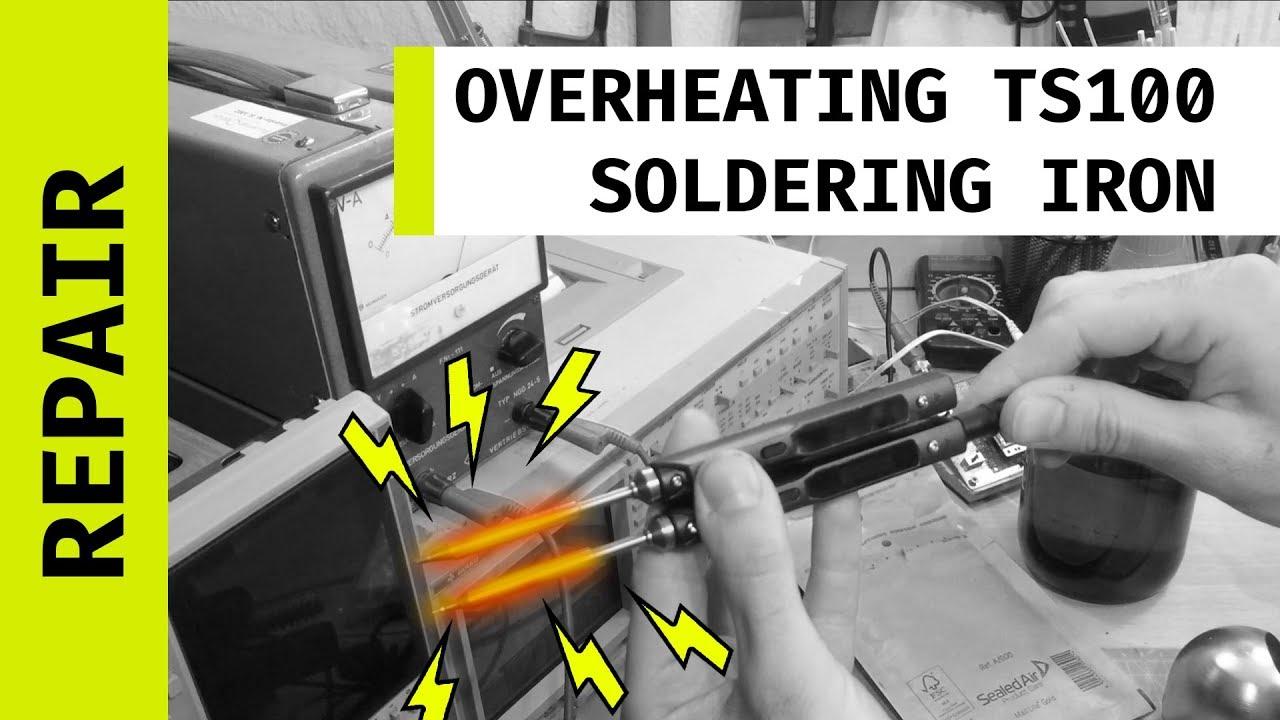 TS100 Fix (Sen-Err / overheating) - MOSFET replacement - Most
