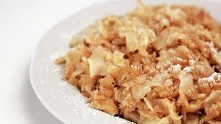 Káposztás Tészta Videó Recept (cabbage And Noodles)