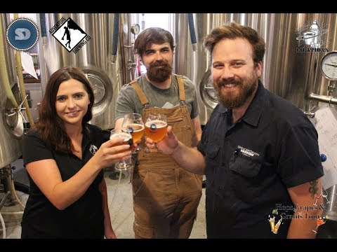 Hops Grapes and Grains Episode 6 - Spencer Devon Brewing Company