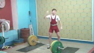 Хафизов Илья, 15 лет, св 42 3 Толчок 75 кг 3 подход