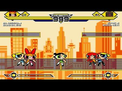 Powerpuff Girls Party 3v3 Patch MUGEN 1.0 Battle!!!