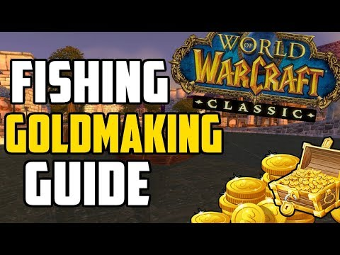 How To Make Gold With Fishing In Classic WoW