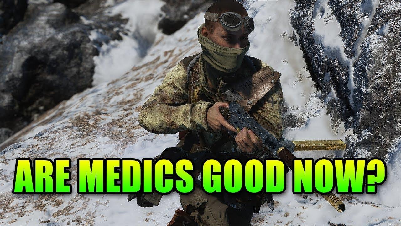 Are Medics Good Now? | Battlefield 5