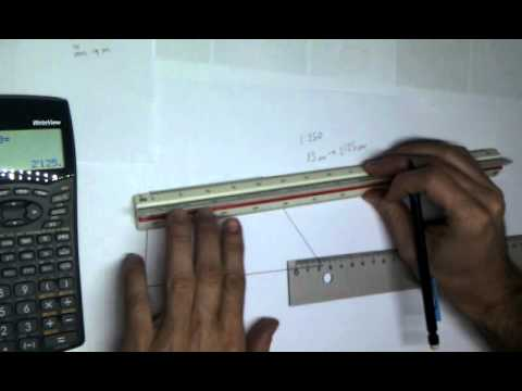 Dibujo Tecnico Como usar un escalimetro  YouTube