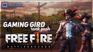 [🔴 LIVE] Freefire : Rank Push to Global   GAMING GIRD #NO SUBSCRIBER GAMEPLAY TODAY  