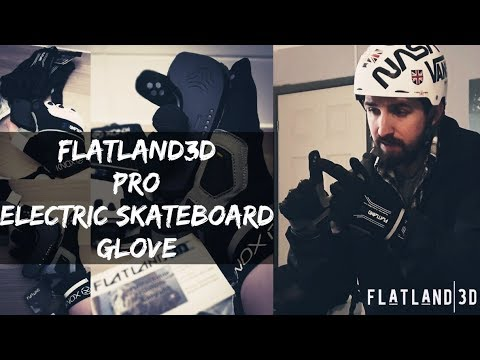 Best Gloves For Electric Skateboarding - The FlatLand3D Pro Electric Skateboard Glove