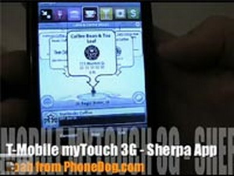 T-Mobile myTouch 3G - Sherpa Application