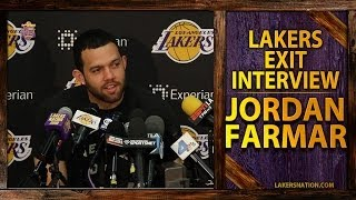 Lakers Exit Interviews 2014: Jordan Farmar,