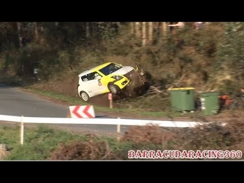 RALLYE DE A CORUÑA 2018 Crash and Best Moments Barracudaracing360