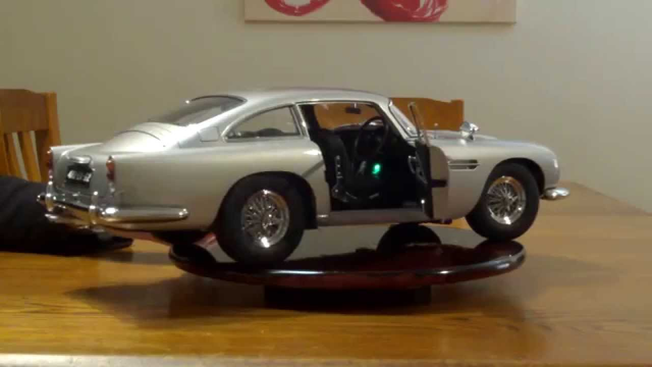 "1/8 scale ""goldfinger"" aston martin db5 - youtube"