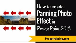 كيفية إنشاء بالغسل تأثير الصورة في PowerPoint 2013