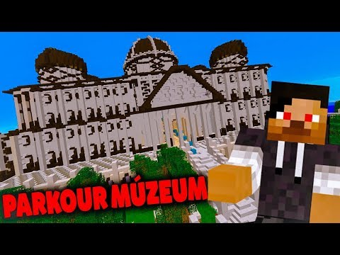 PARKOUR MÚZEUM! - Minecraft