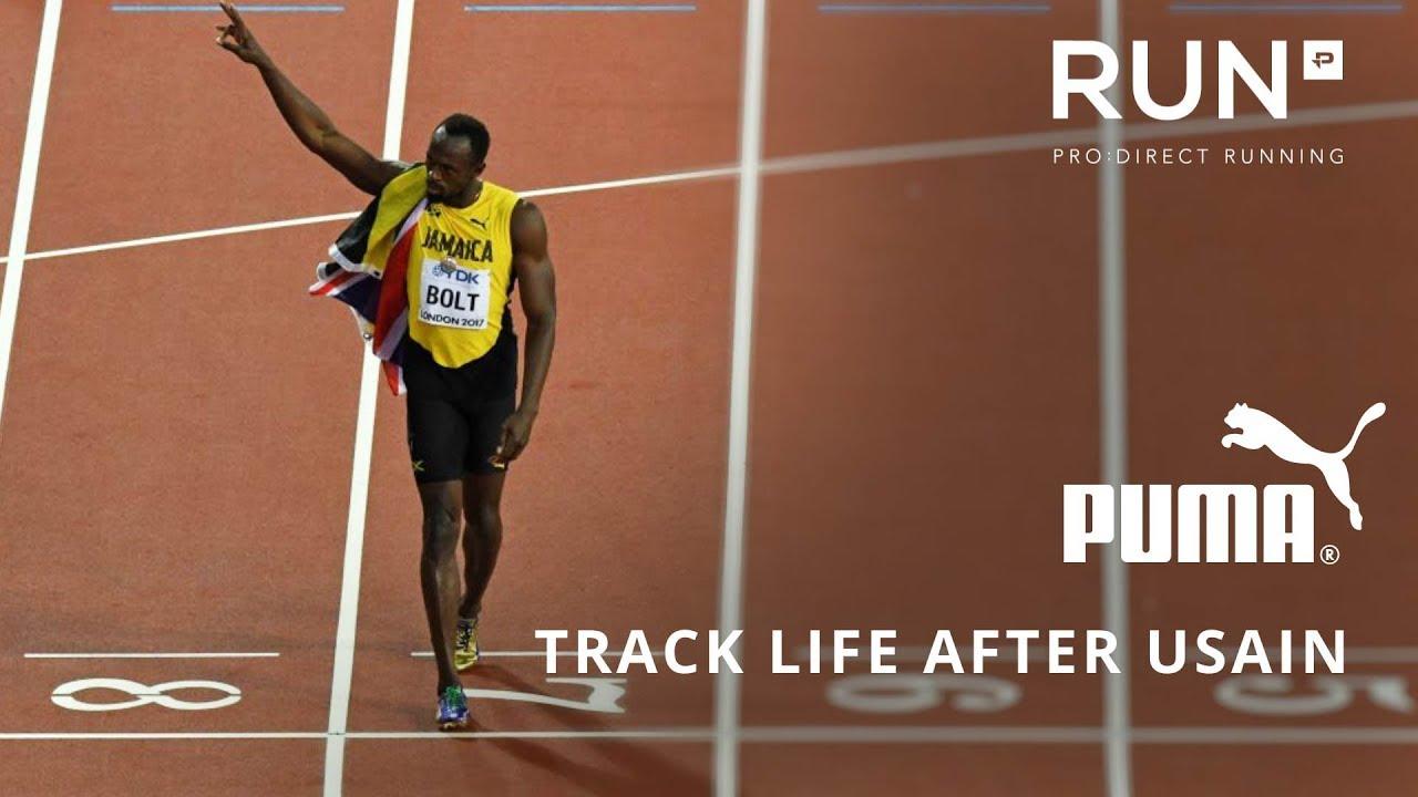 half off 59fc8 4871b Life After Usain Bolt with PUMA Running Ambassadors Christie, Ottey    Kipketer