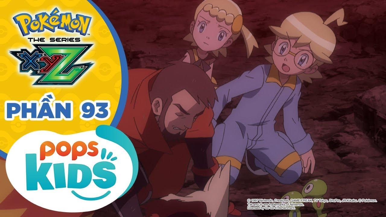 [S19 XYZ] Hoạt Hình Pokémon - Tổng Hợp Các Trận Chiến Pokémon Tại Giải Liên Đoàn KaLos Phần 93
