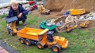 BRUDER Toy TRUCKS ✅ best of BRUDER TRACTORS JOHN DEERE 🚜 bruder EXCAVATOR KIDs PLAY