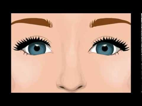 Linda forma de pintarse los ojos facil youtube for Pintarse los ojos facil