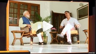 Watch PM Narendra Modis non-political interview with Bollywood actor Akshay Kumar