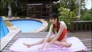 堀川美加子  赤色のスクール水着デザイン 堀井沙織 動画 22