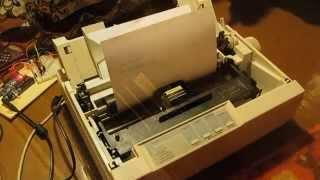 Smile Song On Dot Matrix Printer