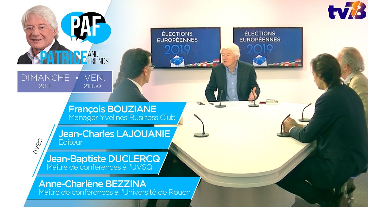 PAF – Patrice Carmouze and Friends – Emission du 5 avril 2019